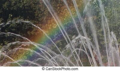 Rainbow Fountain