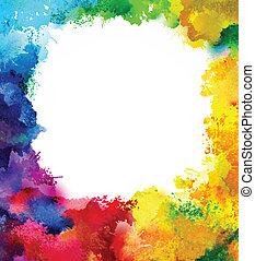 rainbow frame