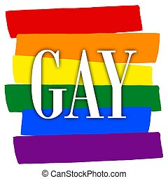 Rainbow gay pride flag, Symbol of sexual minorities
