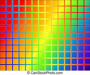 Rainbow grid