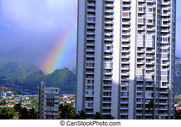 Rainbow Honolulu Hawaii
