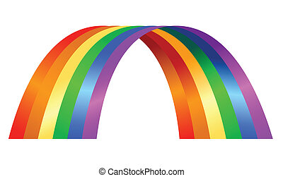 rainbow illustration - Illustration of colorful rainbow