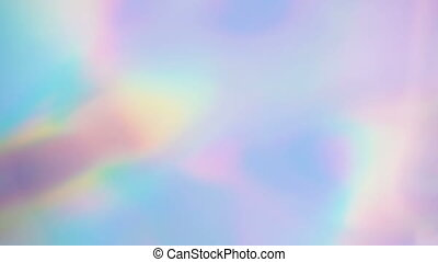 Rainbow iridescent abstract holographic live wallpaper - ...