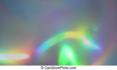 Rainbow iridescent abstract holographic live wallpaper -...