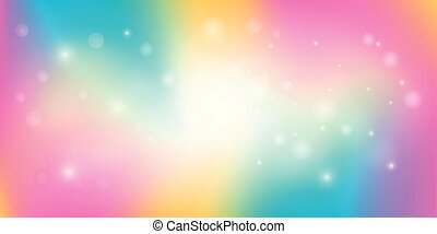 Rainbow Light Abstract Background