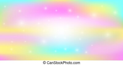 Rainbow light abstract background vector