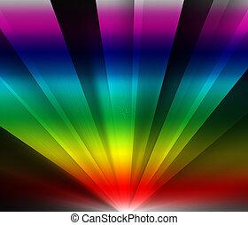 Rainbow Light Rays
