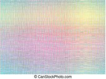 Rainbow line net background
