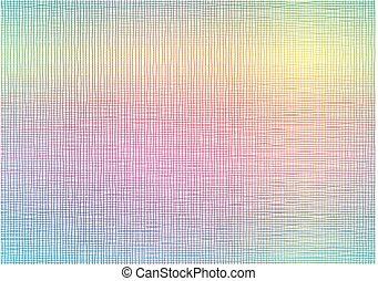Rainbow line net background