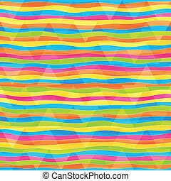 rainbow lines seamless pattern