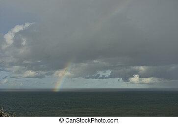 Rainbow over Ocean 03