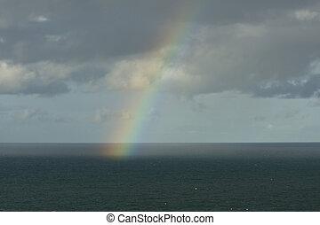Rainbow over Ocean 04