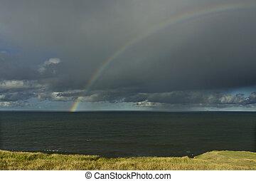Rainbow over Ocean 07