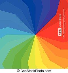 Rainbow Palette Background