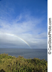 Rainbow, Pleasant Bay, Cape Breton Highlands National Park, Nova Scotia, Canada