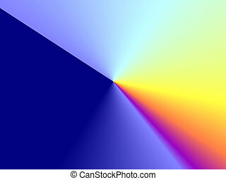 rainbow prism background