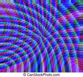 rainbow refraction - A rainbow light refraction -makes a...