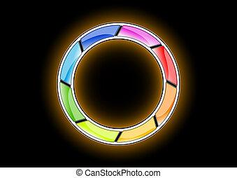 rainbow ring