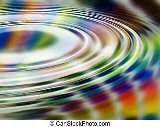 Rainbow Ripples - it\\\'s a rainbow - liquified, with...