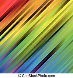 Rainbow spectrum background of blurred diagonal stripes. Abstract vector backdrop