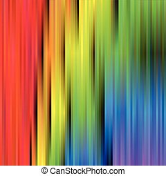Rainbow spectrum background of blurred vertical stripes. Abstract vector backdrop