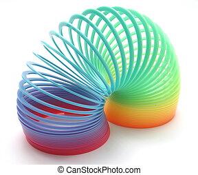 Rainbow Spring Toy