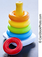 Rainbow Stacker classic Childhood Toy