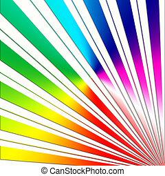 rainbow sunbeam design