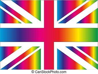 Rainbow Union Jack