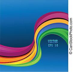 Rainbow vector eps 10 background
