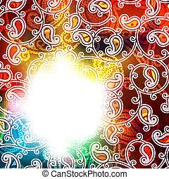 Rainbow Vintage Background