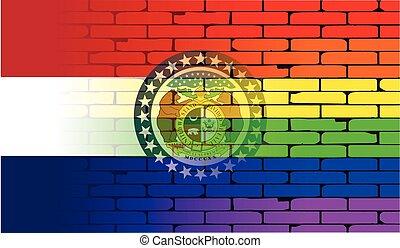 Rainbow Wall Missouri