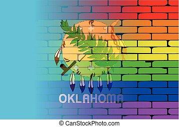 Rainbow Wall Oklahoma