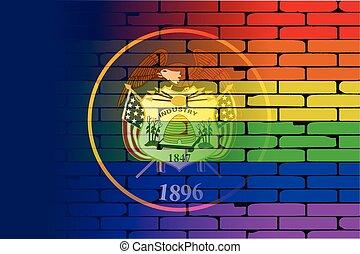 Rainbow Wall Utah