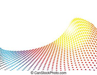 rainbow wave glide