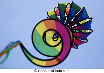 Rainbow Wind Sock