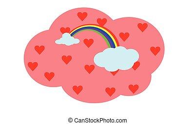 rainbow with love