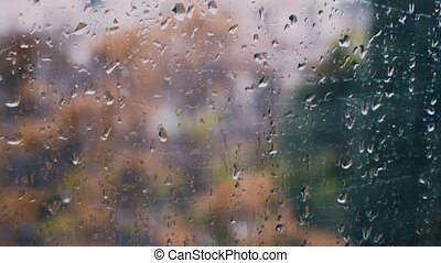 raindrops on the window way with machines 1