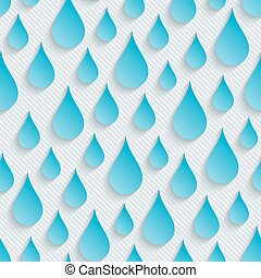 Raindrops walpaper. 3d seamless background. Vector EPS10.