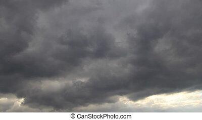 Rainstorm cloudscape