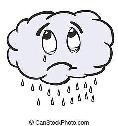 rainy cloud