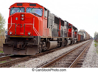 rairoad, lokomotív