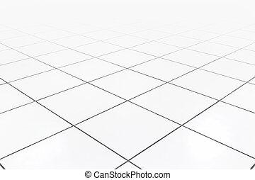 Raised floor white - Raised floor use for background.