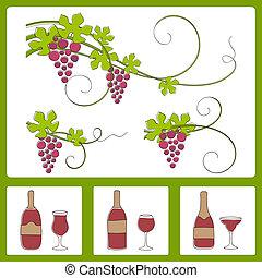 raisin, conception, elements.