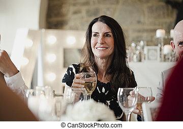 Raising A Glass To A Wedding Toast