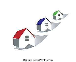 Raising home prices - An illustration of raising home prices...