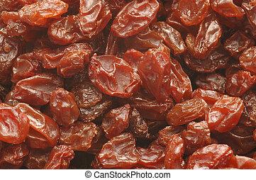 raisins and more juicy raisins
