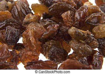 raisins isolated on white background