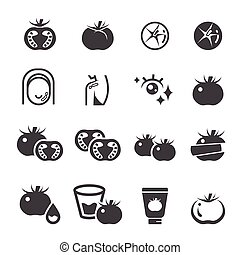 rajče, dát, ikona