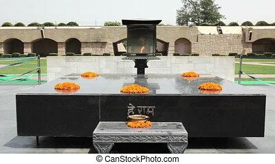 Raj Ghat, Gandhi Memorial - Raj Ghat is a memorial to...